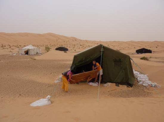 Nos tentes