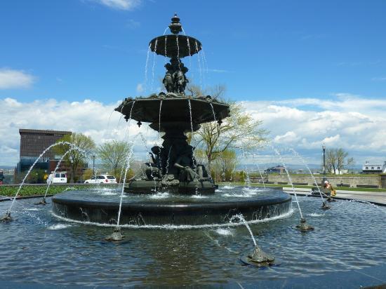 La fontaine Tourny à Québec