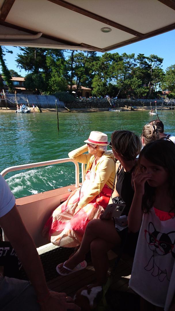 Virée en bateau