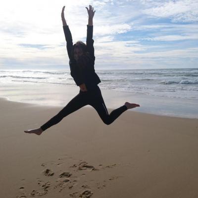 Philou a la plage